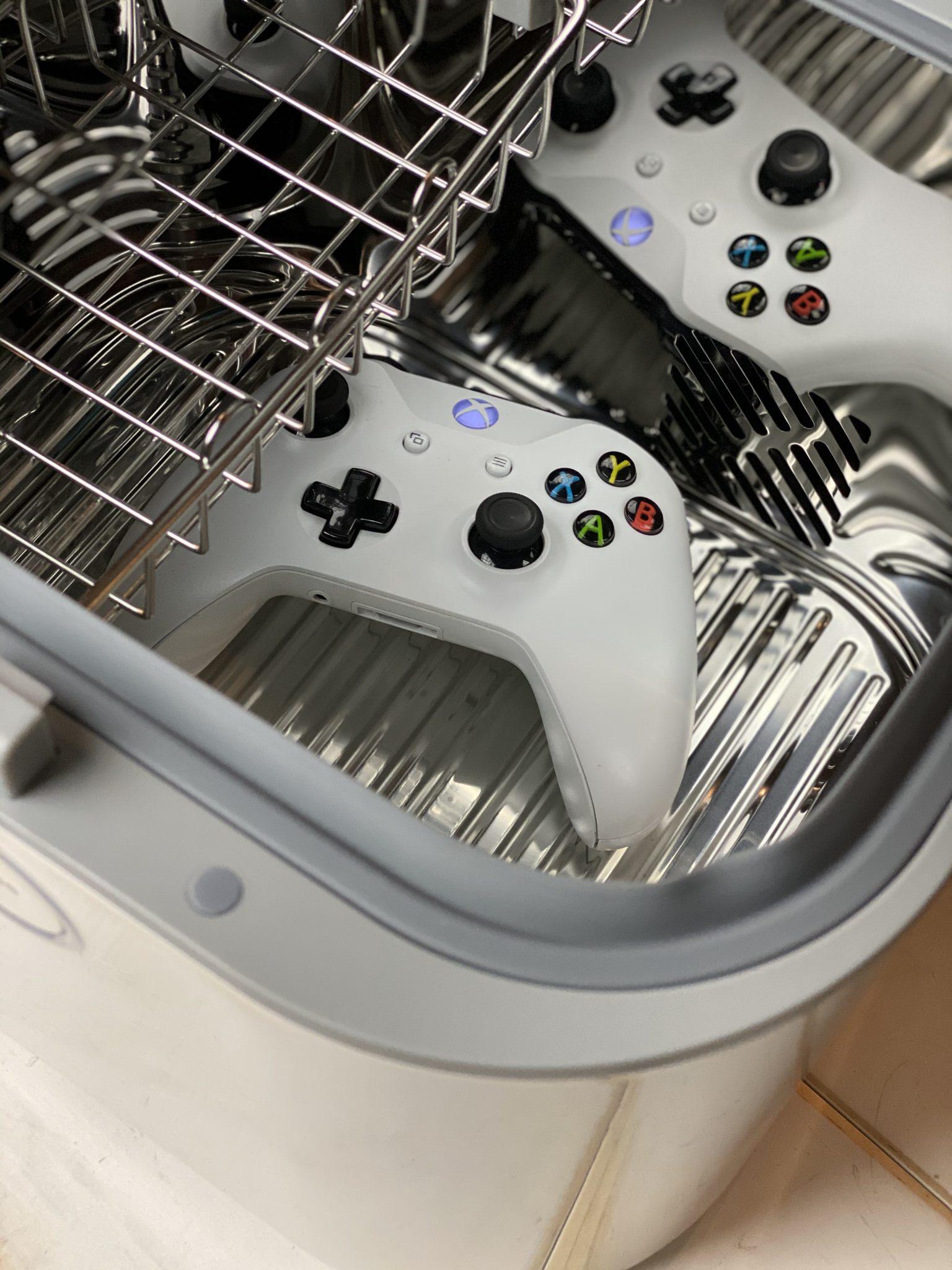 sanitize gamer remotes
