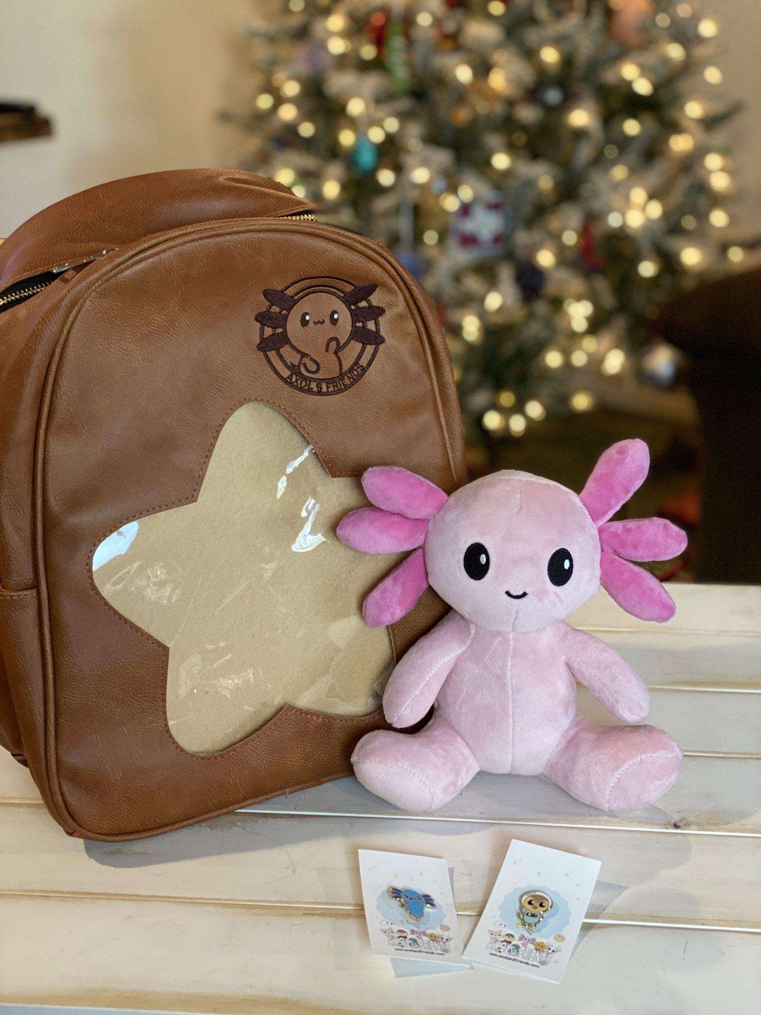 Axol & Friends World Adventure Backpack