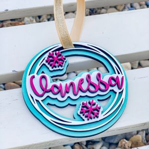 personalized ornaments for kids stockings