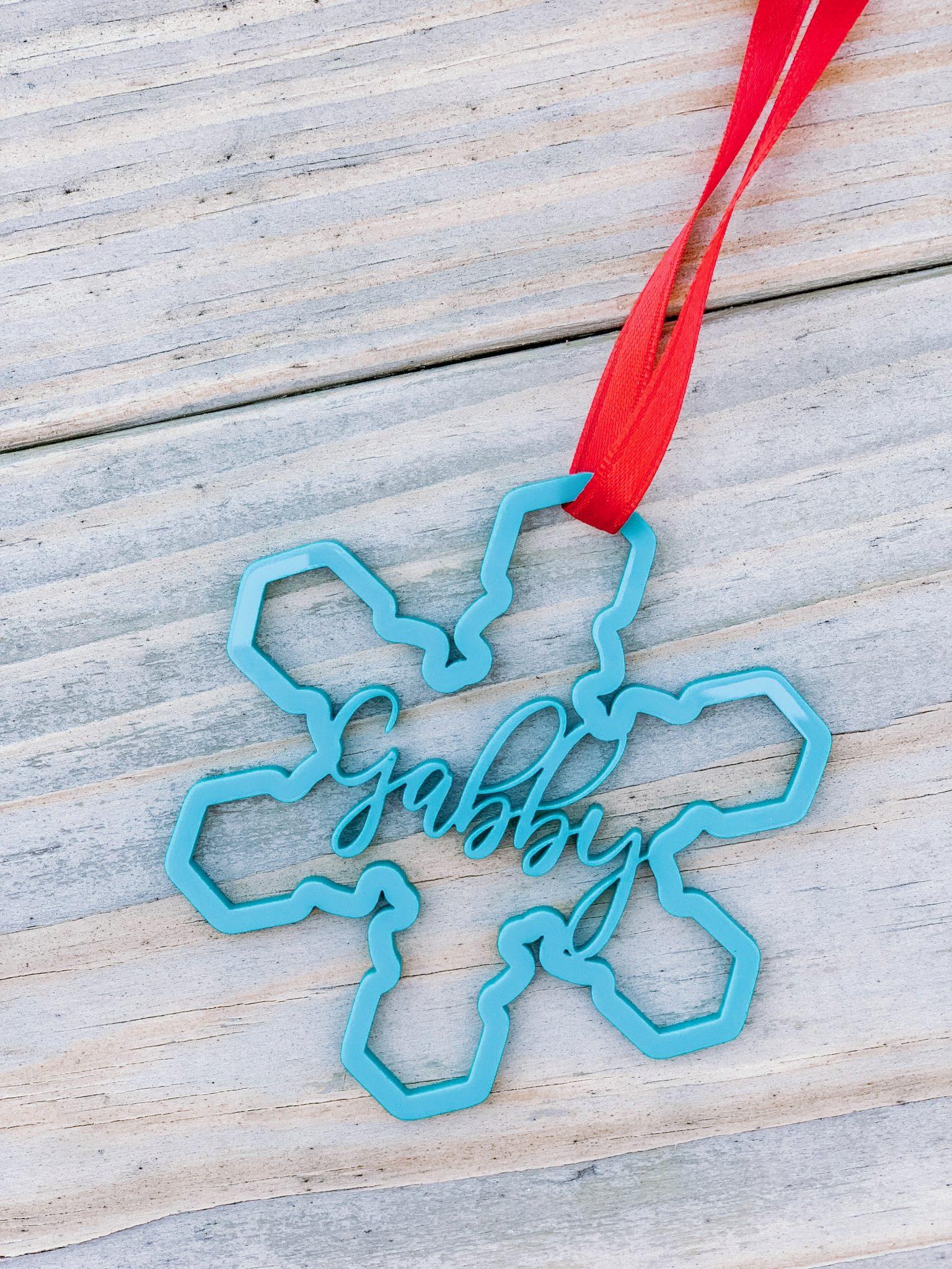 Disney Frozen inspired Christmas ornament