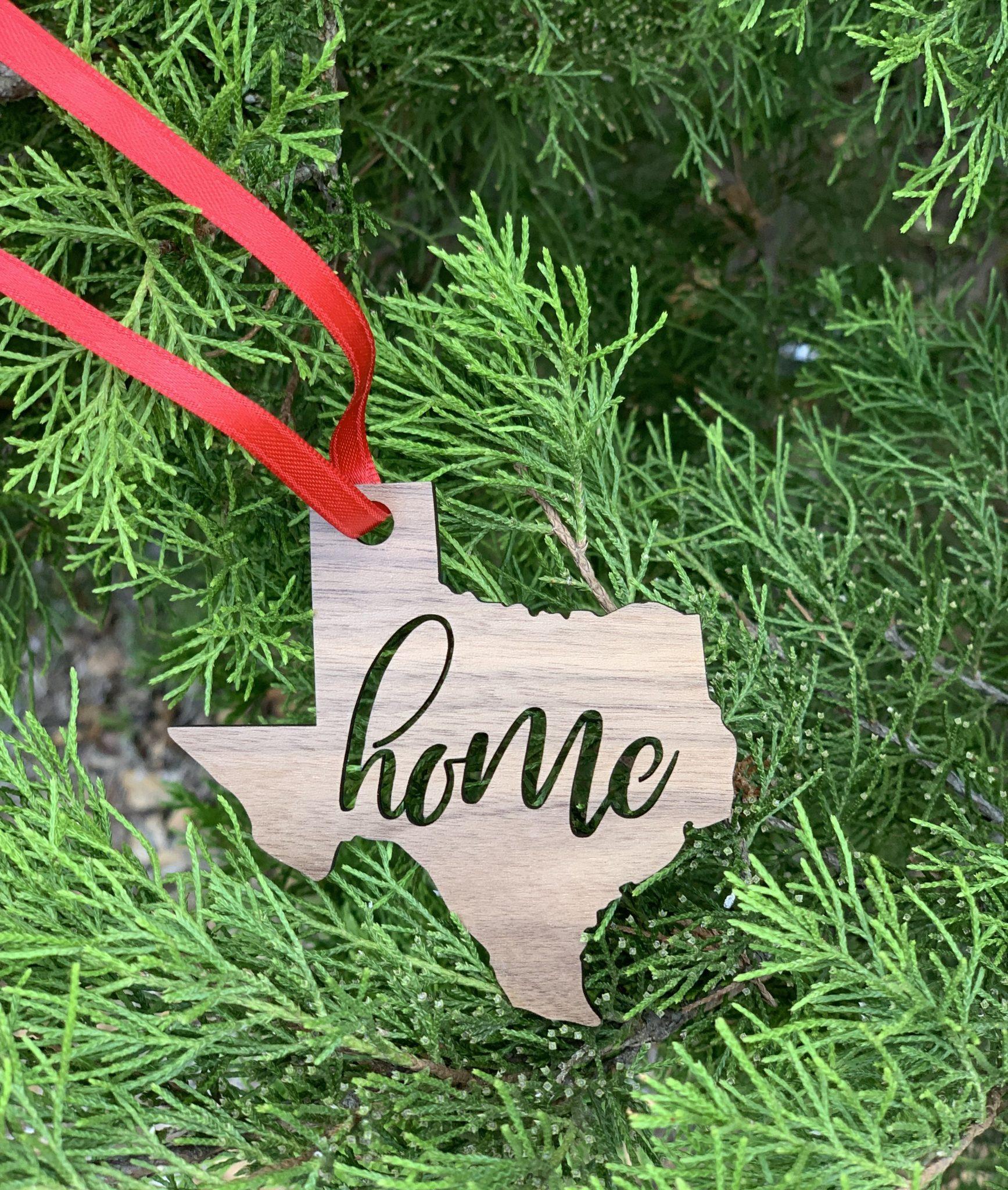 Texas Home Ornament