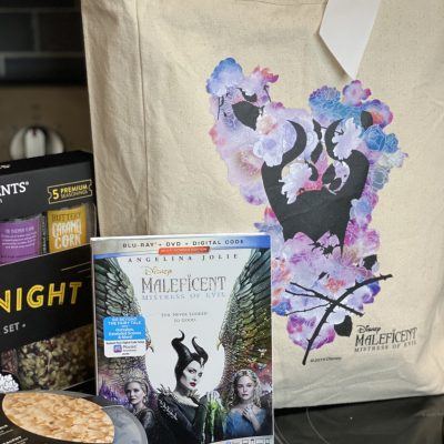 Maleficent: Mistress of Evil Movie Night for National Popcorn Day