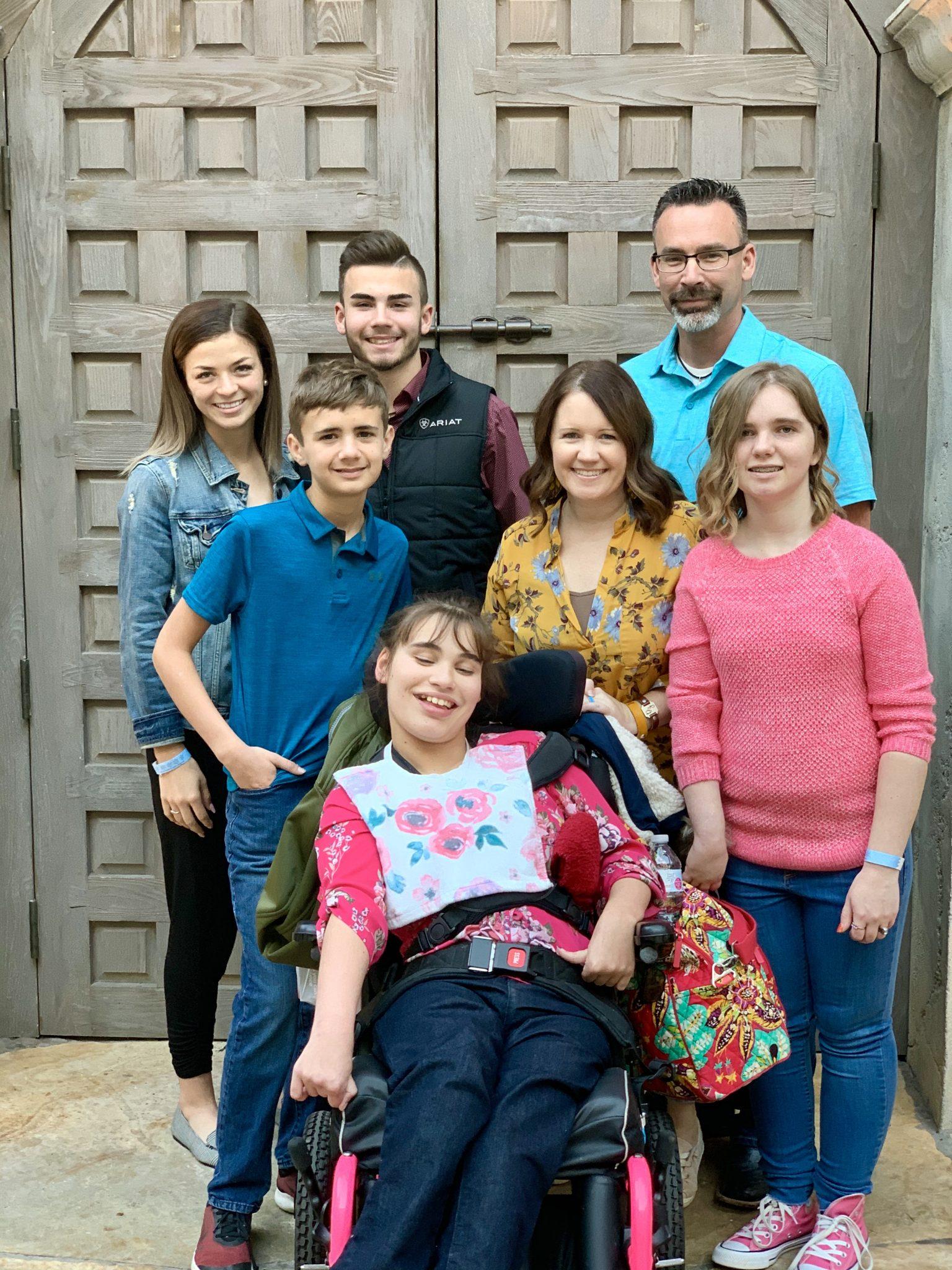 Perrin Johns family at Gaylord