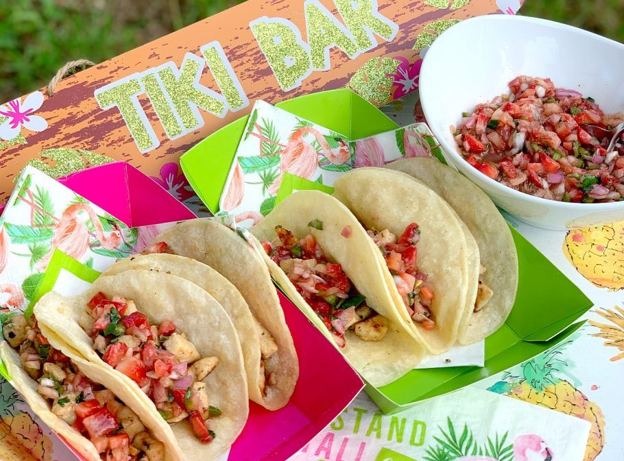 party planning, chicken street tacos recipe, free printable