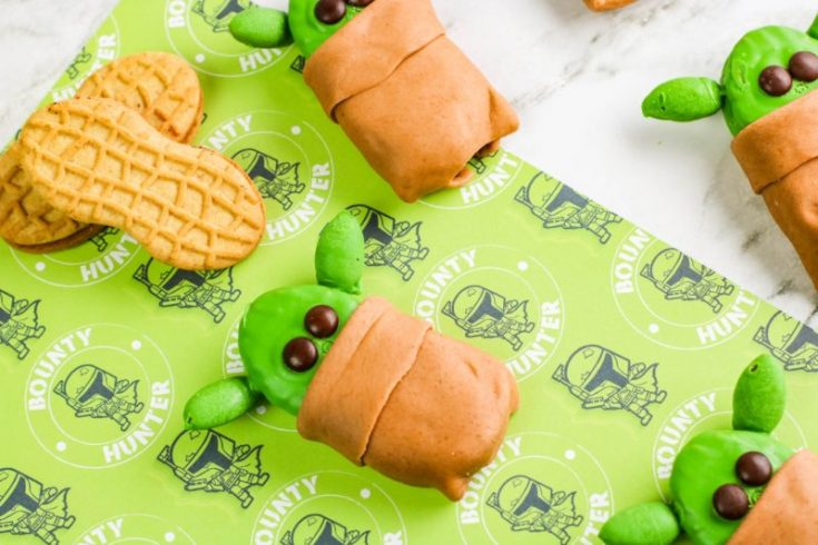 No-Bake Baby Yoda Cookies Recipe