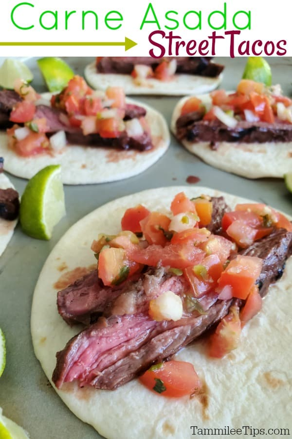 How to make delicious grilled Carne Asada Tacos at home!