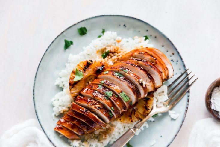 Grilled Hawaiian BBQ Chicken
