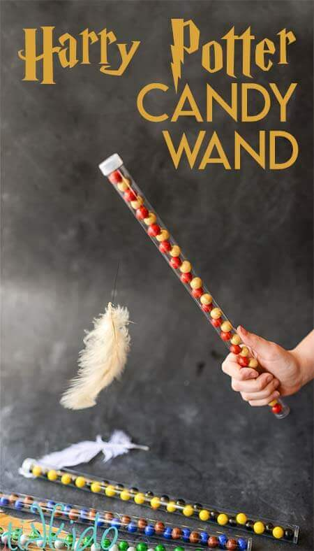 Harry Potter Candy Wand Tutorial
