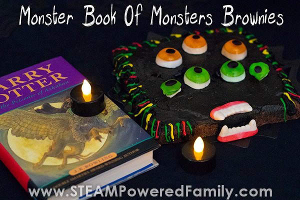 Monster Book of Monsters Brownies Inspired by Harry Potter