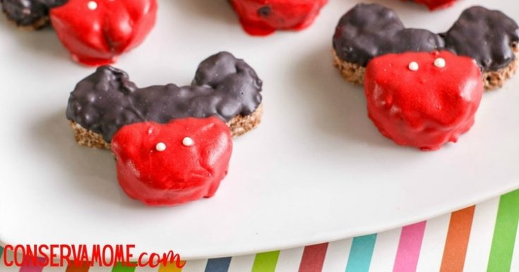 Mickey Mouse Krispie treats