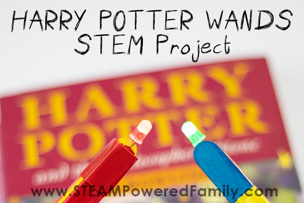 Harry Potter Wand STEM Project - Cast Lumos & Nox like magic