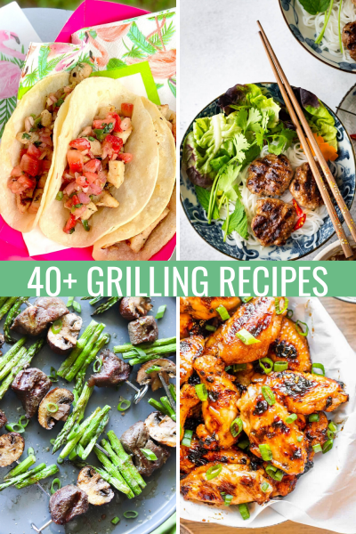 The Best Grilling Recipes