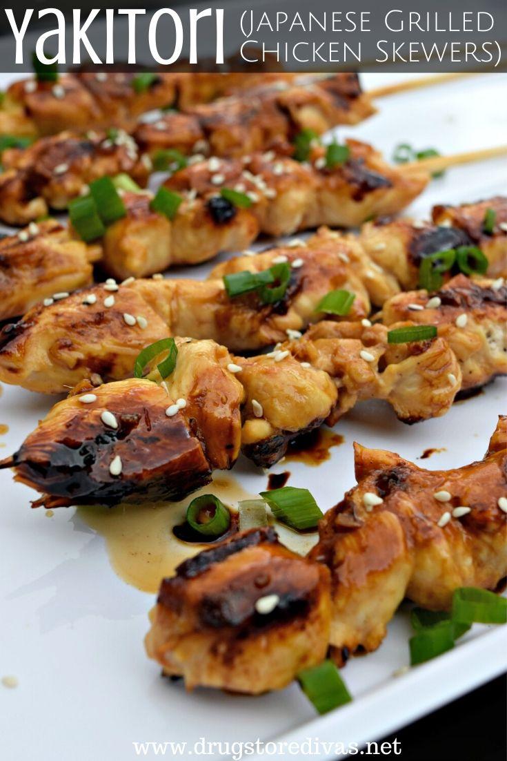 Yakitori (Japanese Grilled Chicken Skewers)