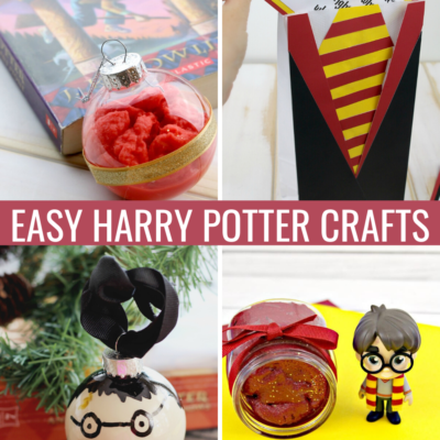 20+ Easy Harry Potter Crafts