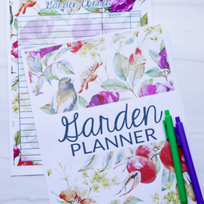 Free Printable Garden Journal: Plan Your New Garden This Season