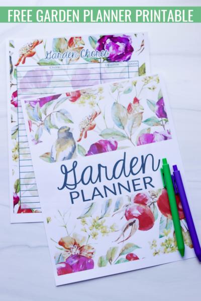 Garden Planner Printables