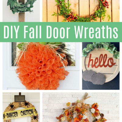 Fall Wreath Ideas: 12+ DIY Door Wreaths To Make During a Pandemic