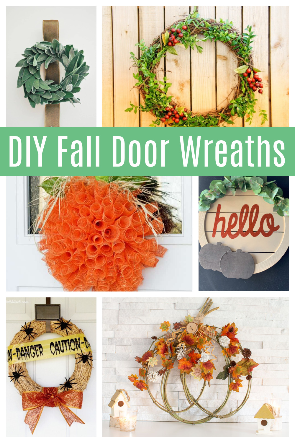 Fall Wreath Ideas 12 Diy Door Wreaths To Make During A Pandemic Life Family Joy