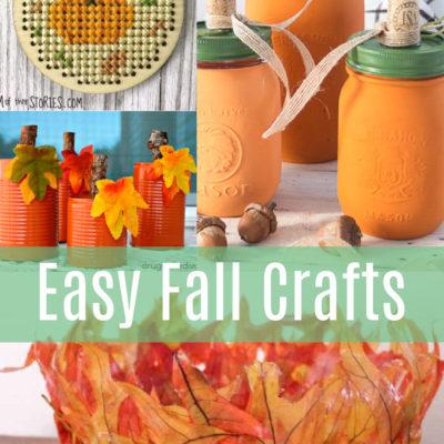 15+ DIY Ideas For Fall Crafts
