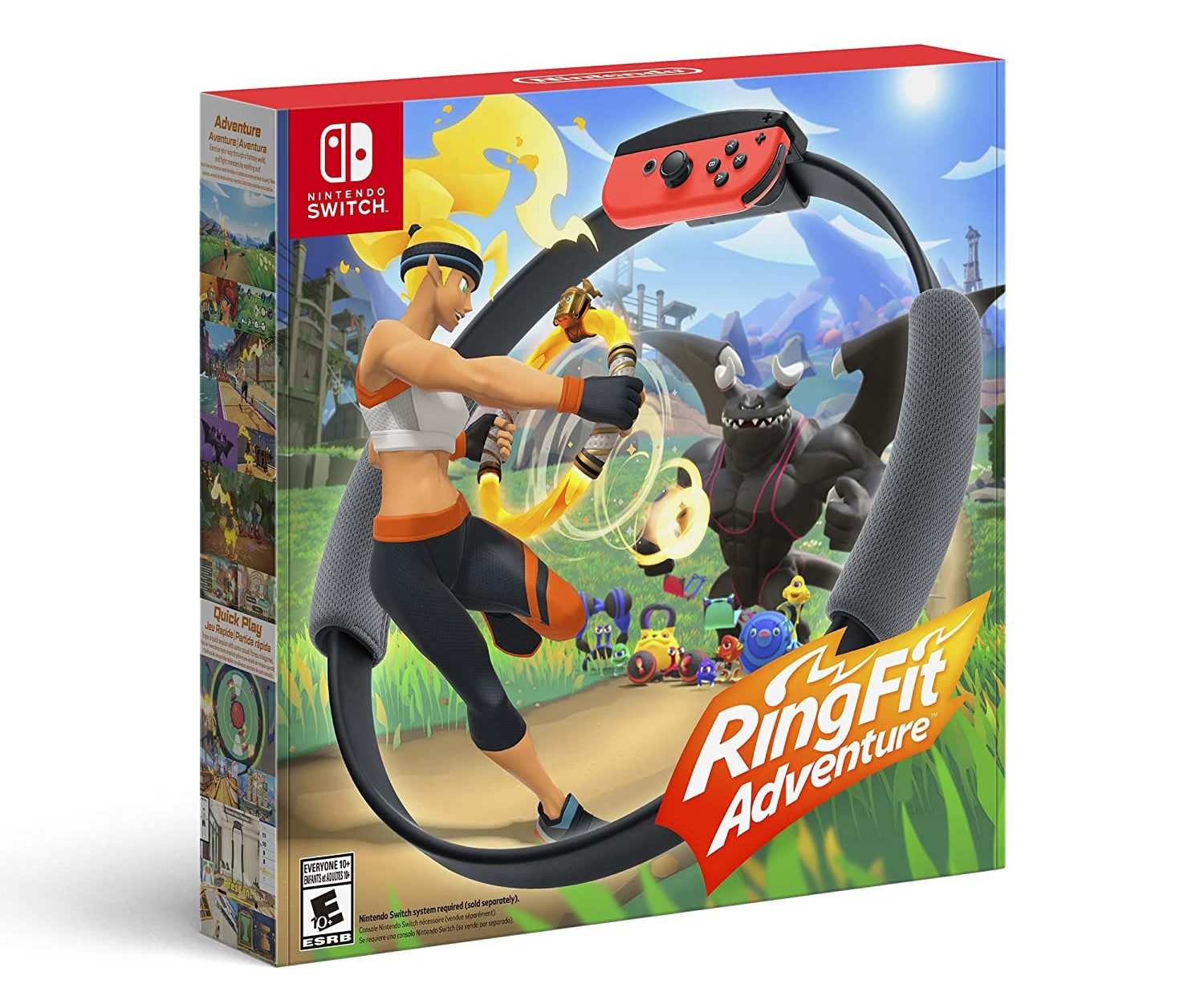 Ring Fit Adventure Game for Nintendo Switch