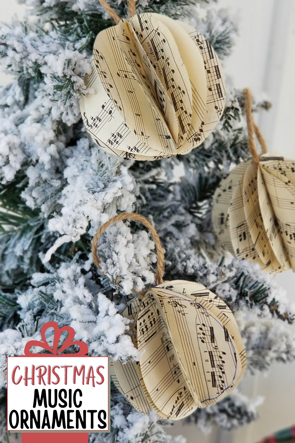 Christmas Music Ornaments