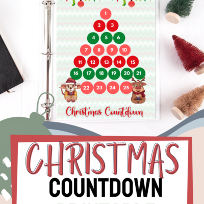 Christmas Printable: Christmas Countdown