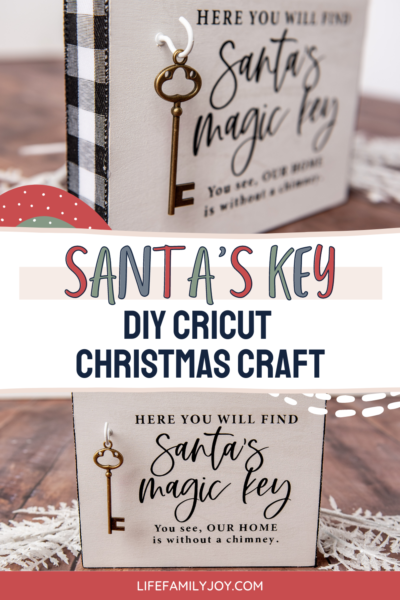 Cricut Christmas Craft