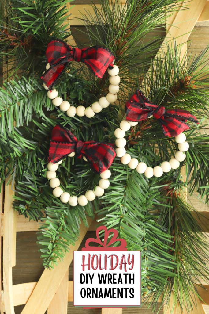 DIY Wreath Ornaments