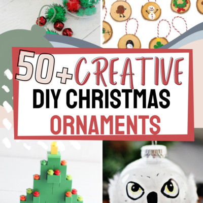 50+ Ideas for Homemade Christmas Ornaments