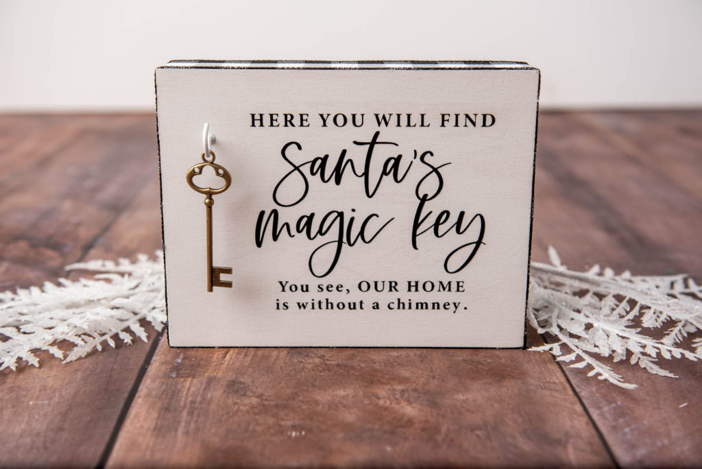 Santa Sign DIY Tutorial